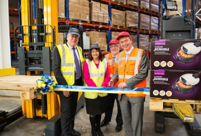 Lakeland cuts the ribbon on multi-million pound investment