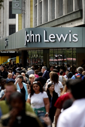 John Lewis At Home stores lead the way for weekly sales