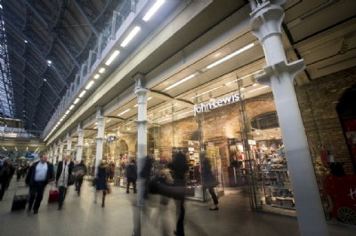 John Lewis opens first shop in a railway station