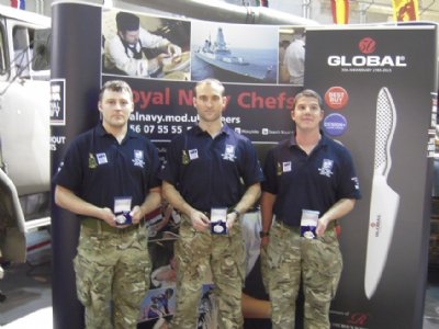 Grunwerg's Global Knives gives Royal Navy the edge to win gold in cooking finals