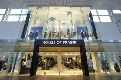 Record Christmas performance for House of Fraser