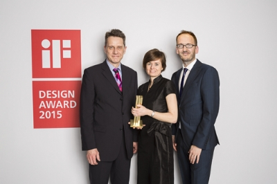 Kenwood wins its first iF Gold Award