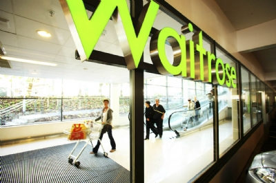 Waitrose shoppers prepare to bake for Easter
