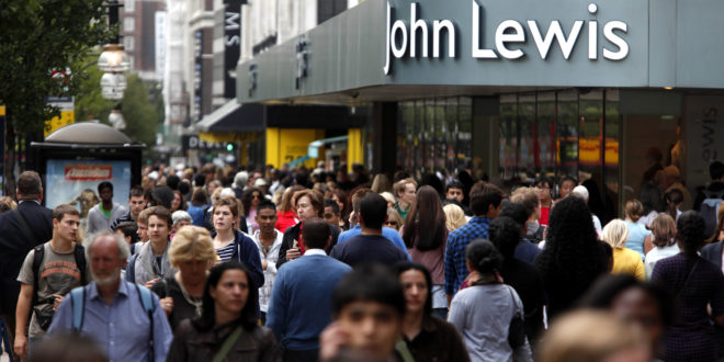 Home sales down 5% at John Lewis
