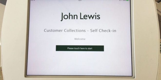 Waitrose launches self-serve check-in for 'click and collect' orders